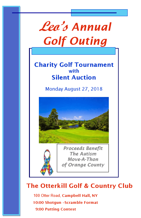 Leo's Charity Golf Outing Benefiting Autism Move-A-Thon